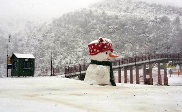 בחרמון מצפים לכמויות שלג גדולות (צילום: אתר החרמון)