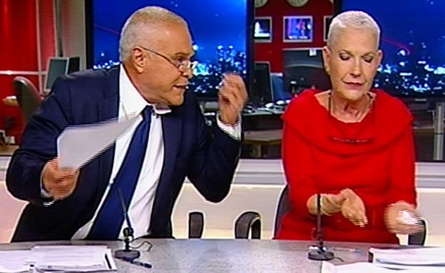 """צפו בעימות הקולני בין נציג נתניהו לעוה""""ד של נפתלי (צילום: חדשות 2)"""