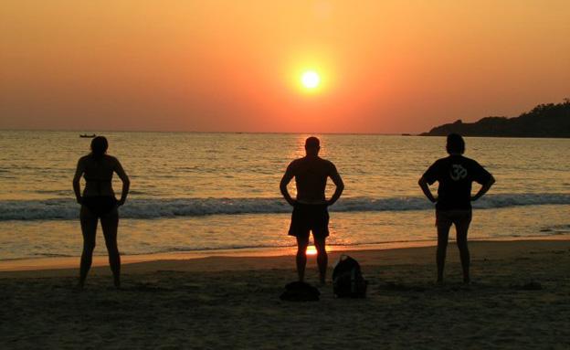 אסון בגן עדן: חופי גואה שבמערב הודו (צילום: נטע יערי)