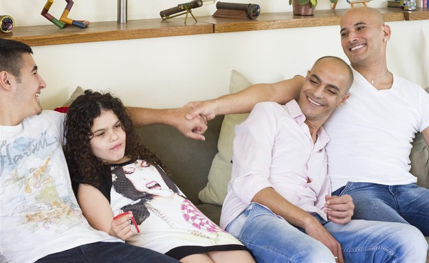 משפחת מימרן (צילום: נועה סלטי, EFifo Magazine)