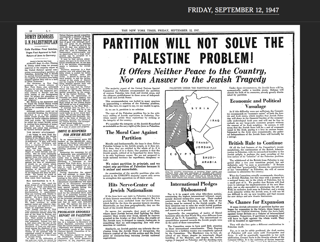the hostility between the palestinian jews and arabs The israeli-palestinian conflict is one of incoming jews, many other palestinian arabs were worried and hostility never really ended between the jews.