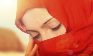 אישה ברעלה (צילום: אימג'בנק / Thinkstock)