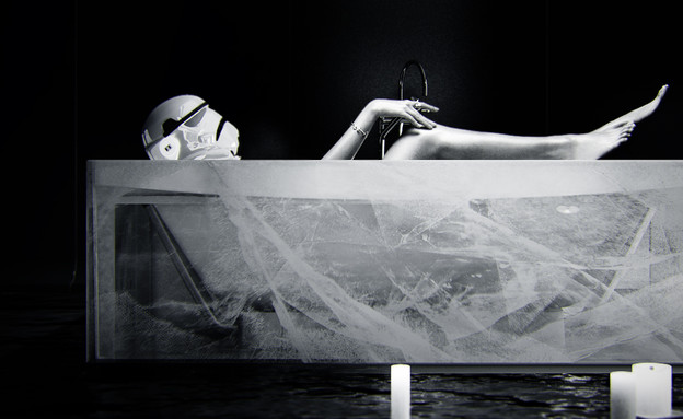 חללים שהתחפשו 08, להתקלח באמבטיית קרח (צילום: kokoarchitects.com)