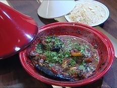 טאג'ין עוף ברוטב יין ופירות יבשים (צילום: קשת, מאסטר שף VIP)