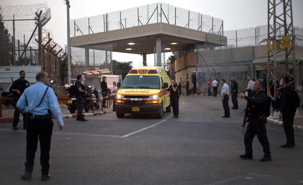 כלא רימונים לאחר התקרית (צילום: AP)