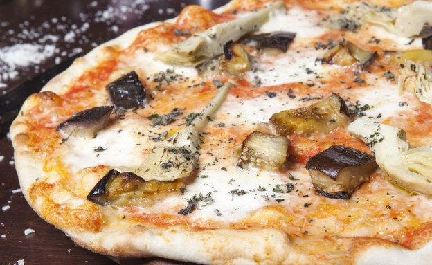פיצה, מסעדת פוסטו פיגו (צילום: דוד חיון,  יחסי ציבור )