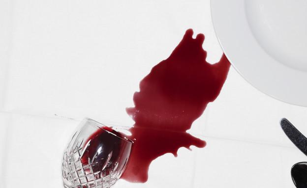 מזונות לניקוי הבית, יין אדום (צילום: Thinkstock)