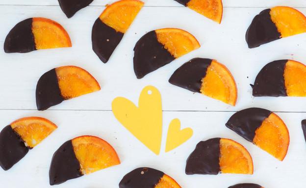 תפוזים בשוקולד של מיס פטל (צילום: שרית נובק - מיס פטל, אוכל טוב)