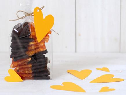 תפוזים בשוקולד - ארוז