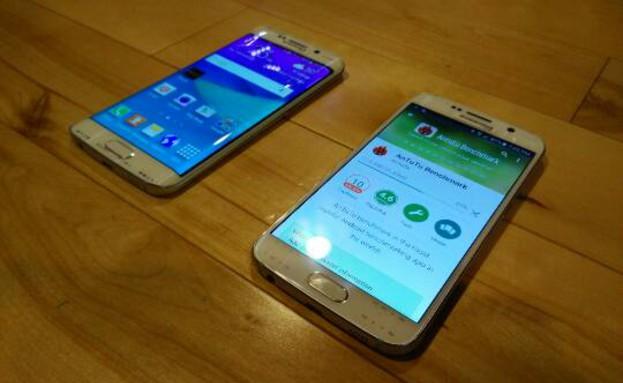 תמונה מודלפת של Galaxy S6 ו-Galaxy S6 Edge (צילום: פורום XDA-Developers)