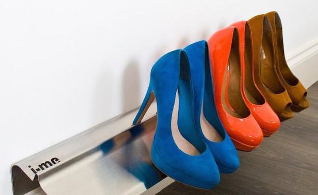 אחסון נעליים 06, מתלים מינימליסטיים לתלייה על הקיר, מחיר-296 שח (צילום: j-me.com)