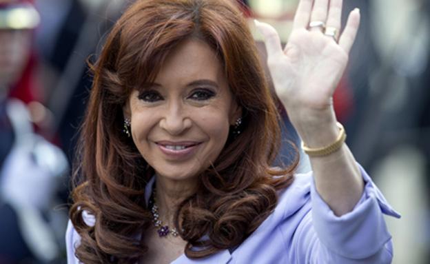 נשיאת ארגנטינה קירשנר, ארכיון (צילום: AP)
