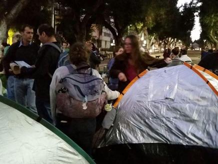 רוטשילד, אוהלים,