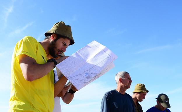 """קורס סיירים (צילום: איתי נבון, עיתון """"במחנה"""")"""