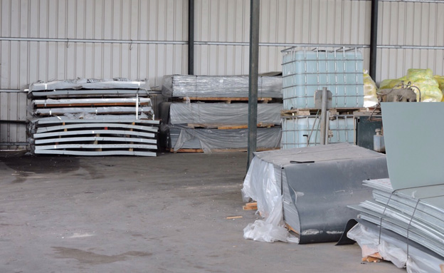 חלק מהסחורות שנתפסו (צילום: חדשות 2)