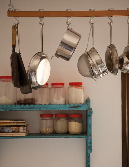 הדירה של ענבר, מדף מטבח, גובה (צילום: עידו קליר )