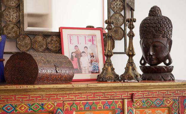 הדירה של ענבר, מזנון אתני (צילום: עידו קליר )
