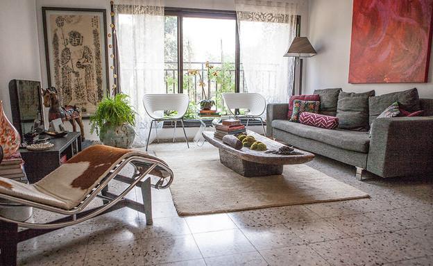 הדירה של ענבר, סלון (צילום: עידו קליר )