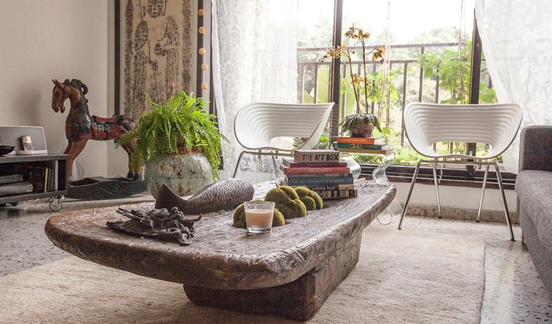 הדירה של ענבר, שולחן (צילום: עידו קליר )