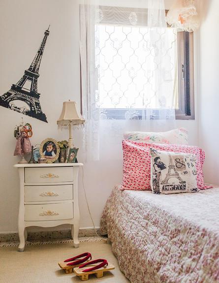הדירה של ענבר, חדר ילדה (צילום: עידו קליר )