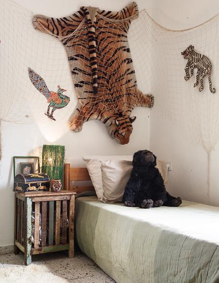 הדירה של ענבר, חדר שינה ילדים (צילום: עידו קליר )