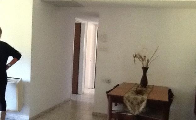 הדירה של ענבר, לפני  (צילום: עידו קליר )