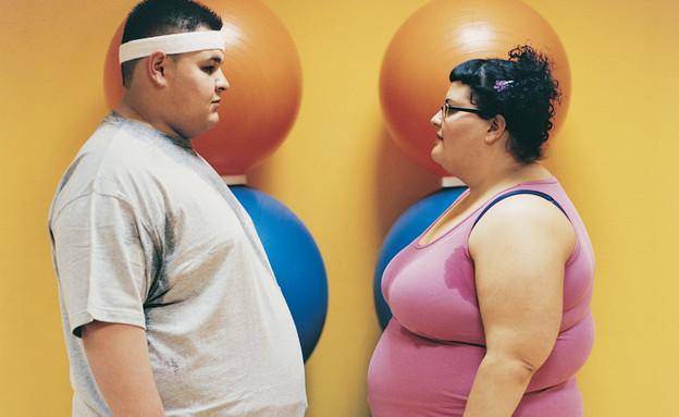 אנשים כבדי משקל (צילום: אימג'בנק / Thinkstock)