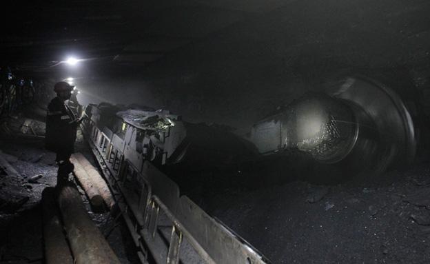 מכרה באוקראינה, ארכיון (צילום: רויטרס)