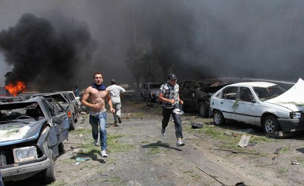 דיווח: חוסלה צמרת ארגון ג'בהת א-נוסרה (צילום: רויטרס)