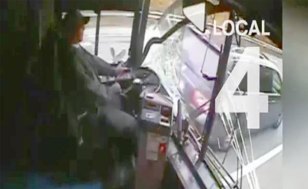 נרדם על ההגה - וגרם לתאונת שרשרת