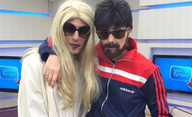 קותי וסיוון קליין, מרץ 2015 (צילום: instagram)