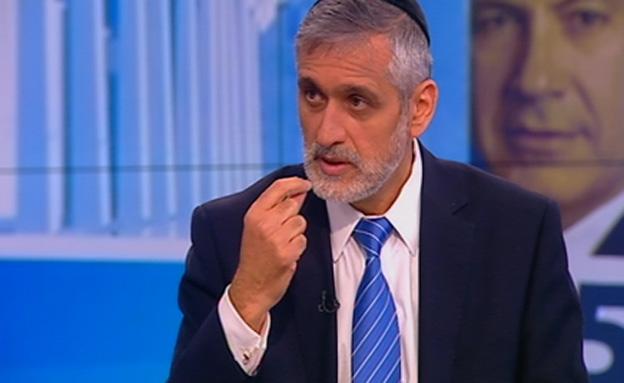 """צפו בריאיון עם ח""""כ אלי ישי (צילום: חדשות 2)"""