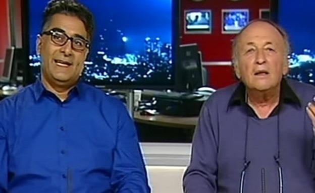 לאחר הנאום בעצרת: עימות סוער באולפן חדשות 2 (צילום: חדשות 2)