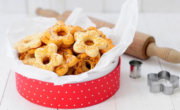 עוגיות גבינה מלוחות בצורות (צילום: שרית נובק - מיס פטל, אוכל טוב)