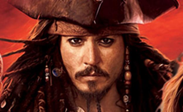 ג'וני דפ בדמותו בשודדי הקריביים (צילום: פורום פילם)