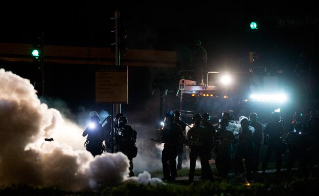 האש חוזרת למיזורי, ארכיון (צילום: רויטרס)