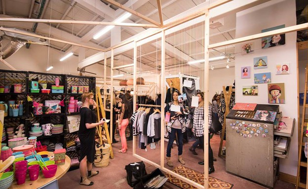 פופ אפ 01 קרן שביט, מתוך החנות של קרן שביט ברמות  (צילום: גלעד רדט)