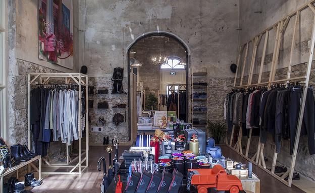 פופ אפ 02 שופליפטרס, משלבות עיצוב, אופנה ואמנות (צילום: יואב גורין)