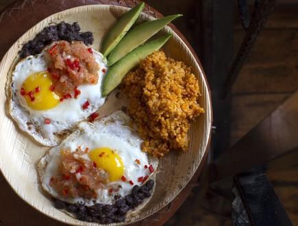 צ'אנגוס אוכל מקסיקני
