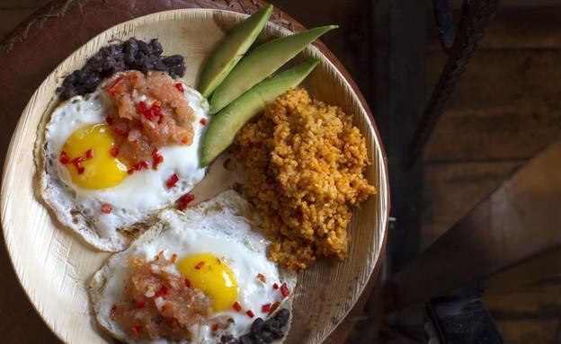 צ'אנגוס אוכל מקסיקני (צילום: אנטולי מיכאלו,  יחסי ציבור )