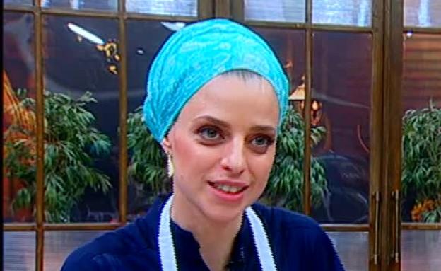 איה מדברת על האהבה שלה לארץ ישראל (תמונת AVI: מתוך מאסטר שף VIP, שידורי קשת)
