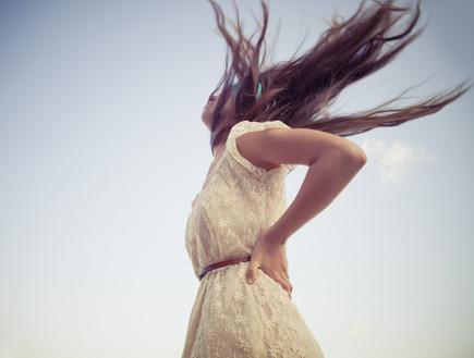 שיער פזור (צילום: אימג'בנק / Thinkstock)