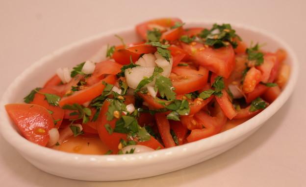 סלט עגבניות  (צילום: יהודה לוי, אוכל טוב)