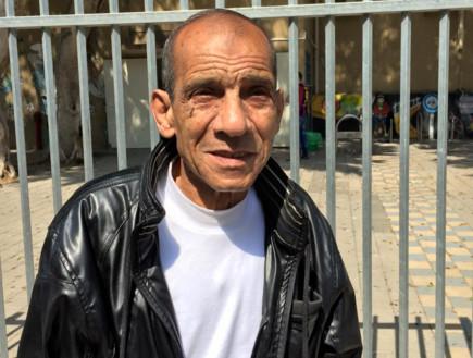 מחמוד פנגרי, בן 73, יפו (צילום: טל שניידר)