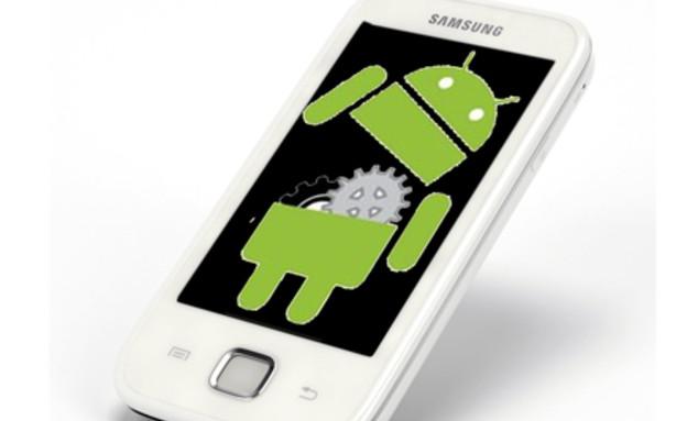 טלפון סלולרי עם אנדרואיד (אילוסטרציה) (צילום: אילוסטרציה)