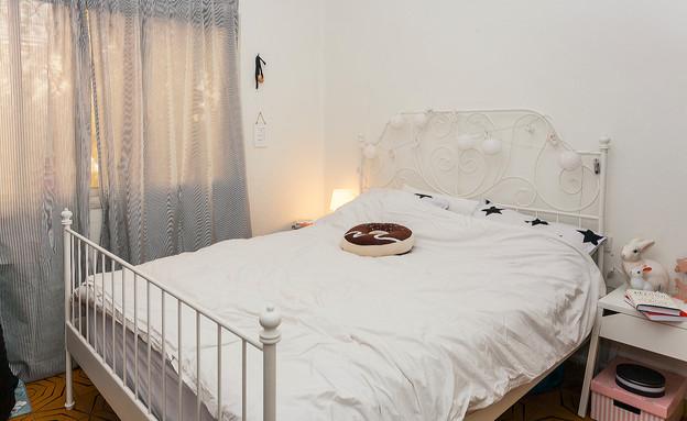 עומר ושירן מילר, חדר שינה (צילום: אבישי פינקלשטיין)