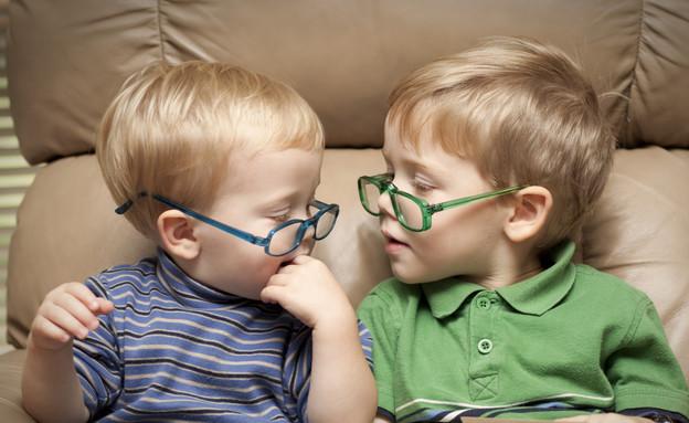 ילדים עם משקפיים (צילום: אימג'בנק / Thinkstock)