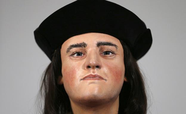 שחזור פניו של המלך ריצ'ארד ה 3 (צילום: רויטרס)