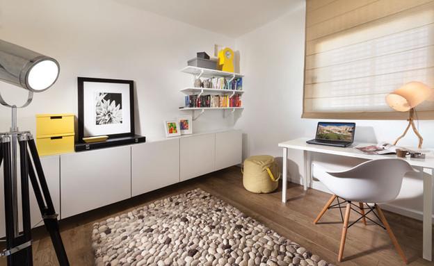 דדי ויפית ראובני 09, עיצוב שנועד ליצור סביבת עבודה (צילום: אלעד גונן)