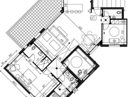 דדי ויפית ראובני, תוכנית הדירה 2 (צילום: אלעד גונן)